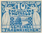 Nouzové platidlo z 20. let 20. století z území Rakouska a Německa