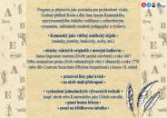 Edukační program J. A. Komenský ve sbírkách muzea - str. 2