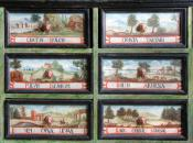 Zásuvky a jejich malířská výzdoba